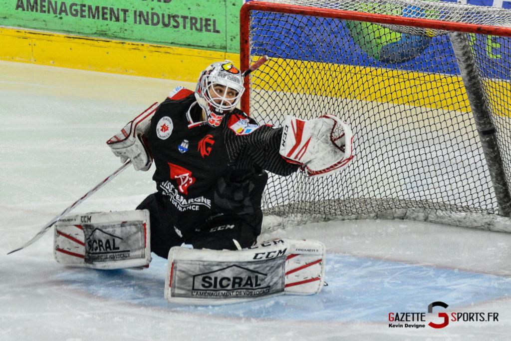 Hockey Sur Glace Gothiques Vs Rouen Kevin Devigne Gazettesports 83