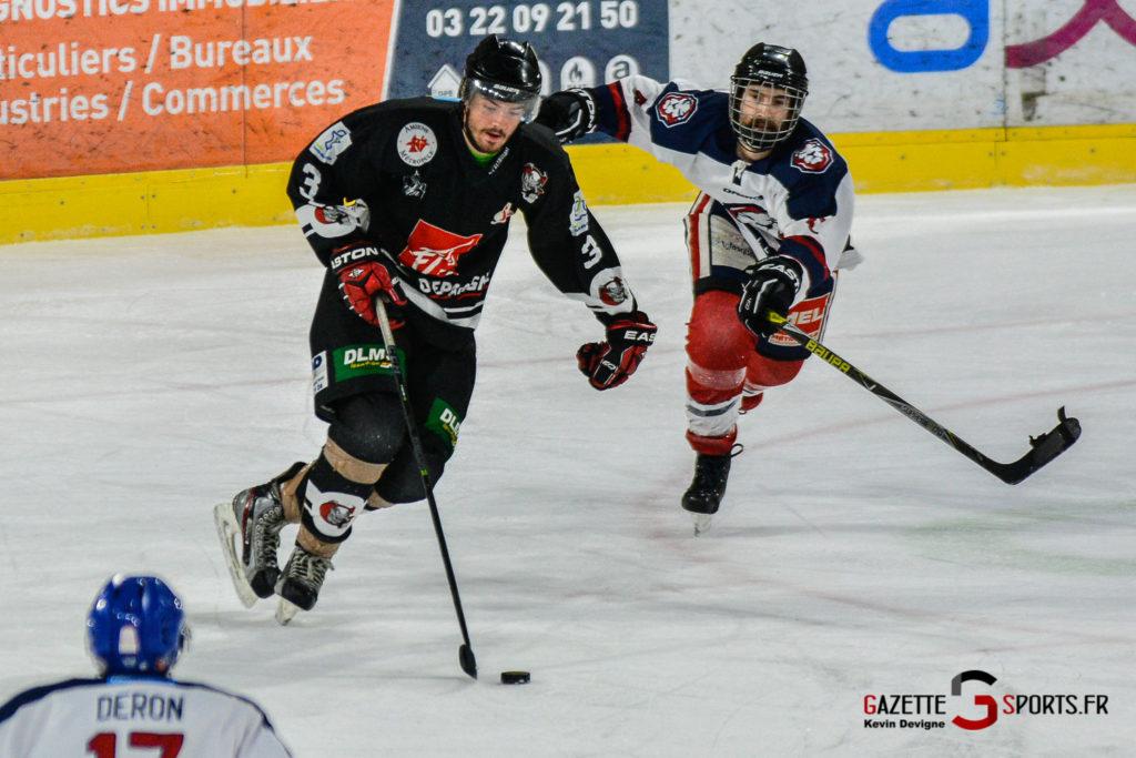 Hockey Sur Glace N4 Gothiques Vs Wasquehal Kevin Devigne Gazettesports 57