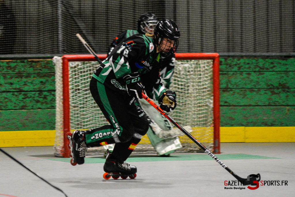 Roller Hockey Greenfalcons Vs Ecureuils Kevin Devigne Gazettesports