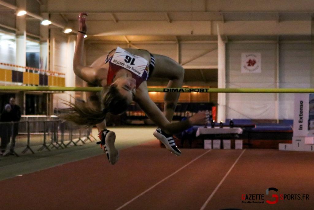 Athletisme Meeting Indoor Auc Hauteur Elite Tour 2020 Gazettesports Coralie Sombret 15