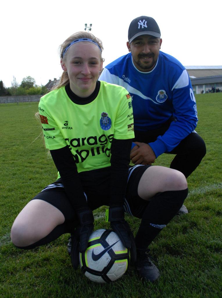 FOOTBALL (F): Louise Lakotko, actually cool?