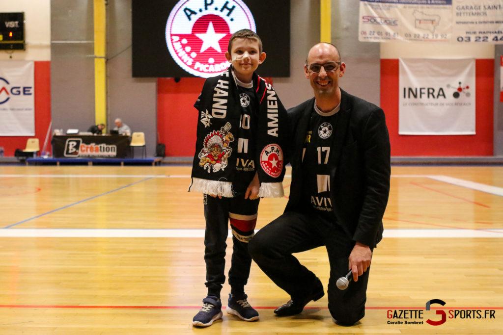 Handball Aph (b) Vs Marcq En Barouel Gazettesports Coralie Sombret