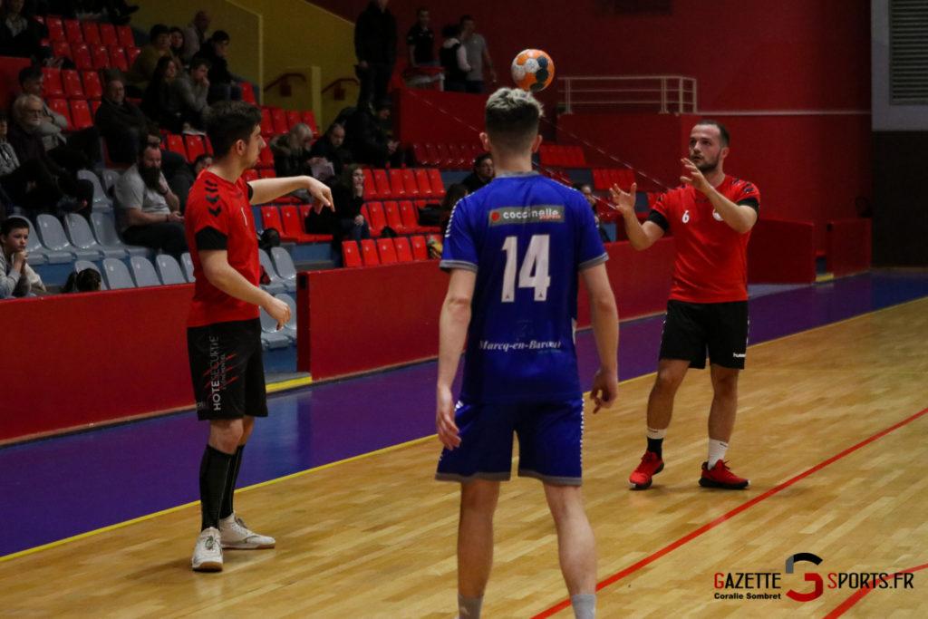 Handball Aph (b) Vs Marcq En Barouel Gazettesports Coralie Sombret 12