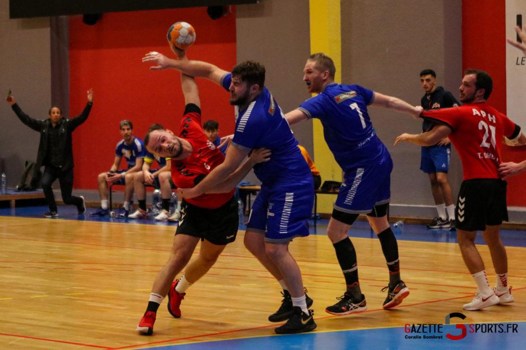 Handball Aph (b) Vs Marcq En Barouel Gazettesports Coralie Sombret 13