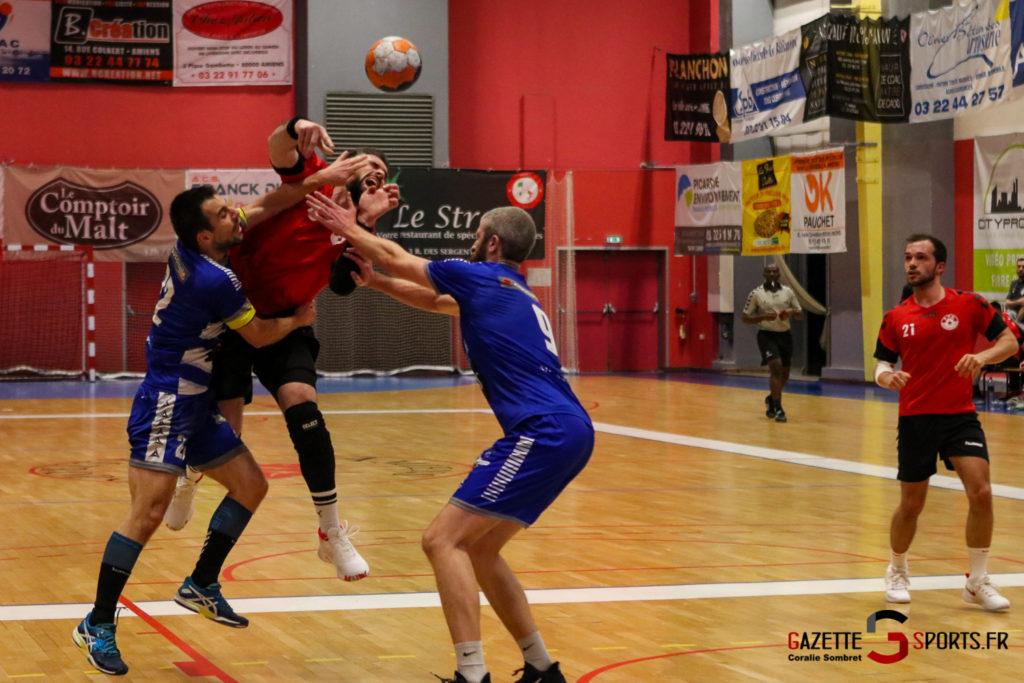 Handball Aph (b) Vs Marcq En Barouel Gazettesports Coralie Sombret 15