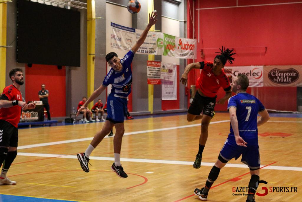 Handball Aph (b) Vs Marcq En Barouel Gazettesports Coralie Sombret 16
