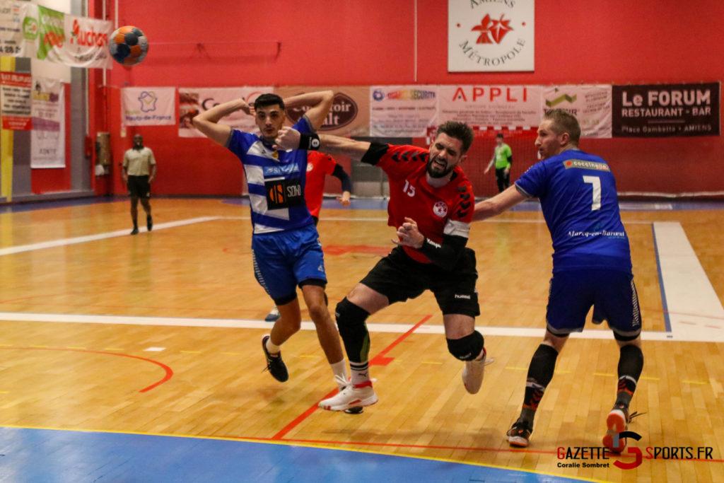 Handball Aph (b) Vs Marcq En Barouel Gazettesports Coralie Sombret 17