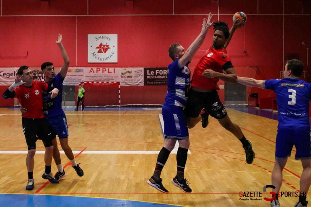 Handball Aph (b) Vs Marcq En Barouel Gazettesports Coralie Sombret 19