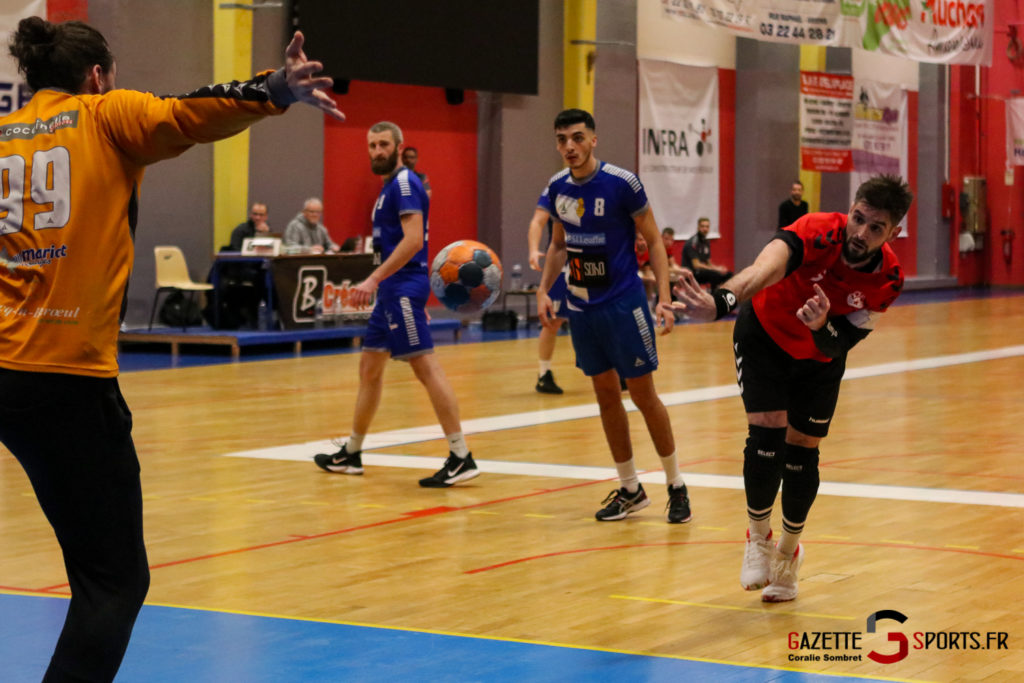 Handball Aph (b) Vs Marcq En Barouel Gazettesports Coralie Sombret 21