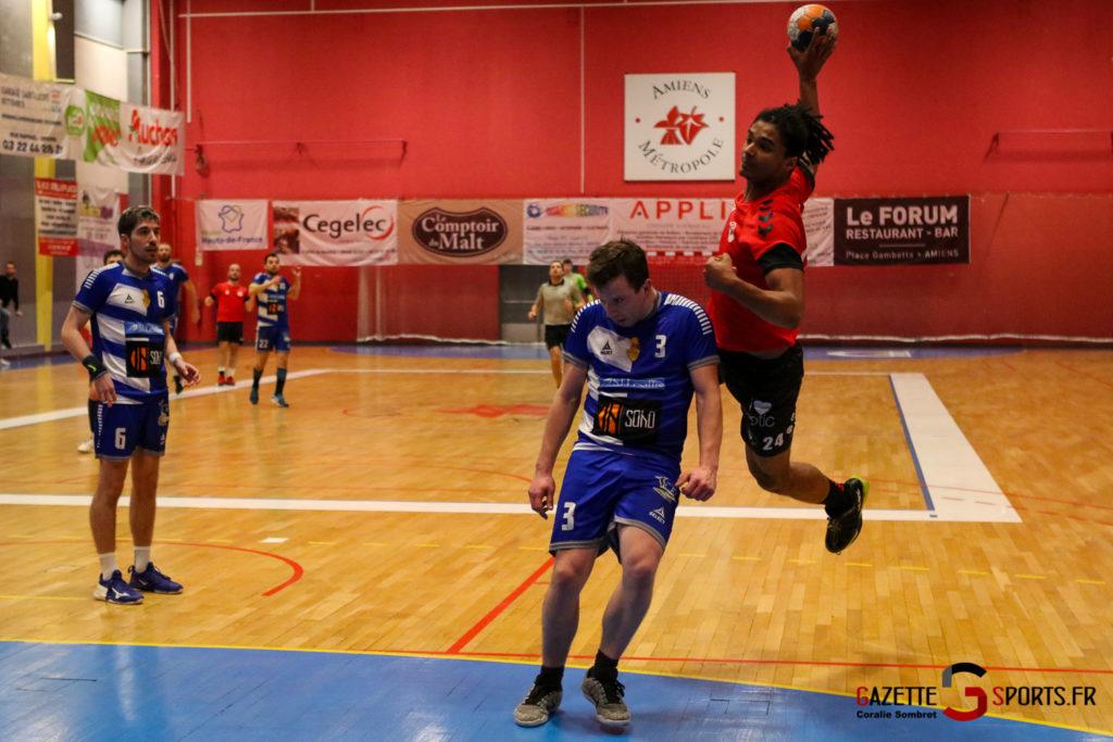 Handball Aph (b) Vs Marcq En Barouel Gazettesports Coralie Sombret 25