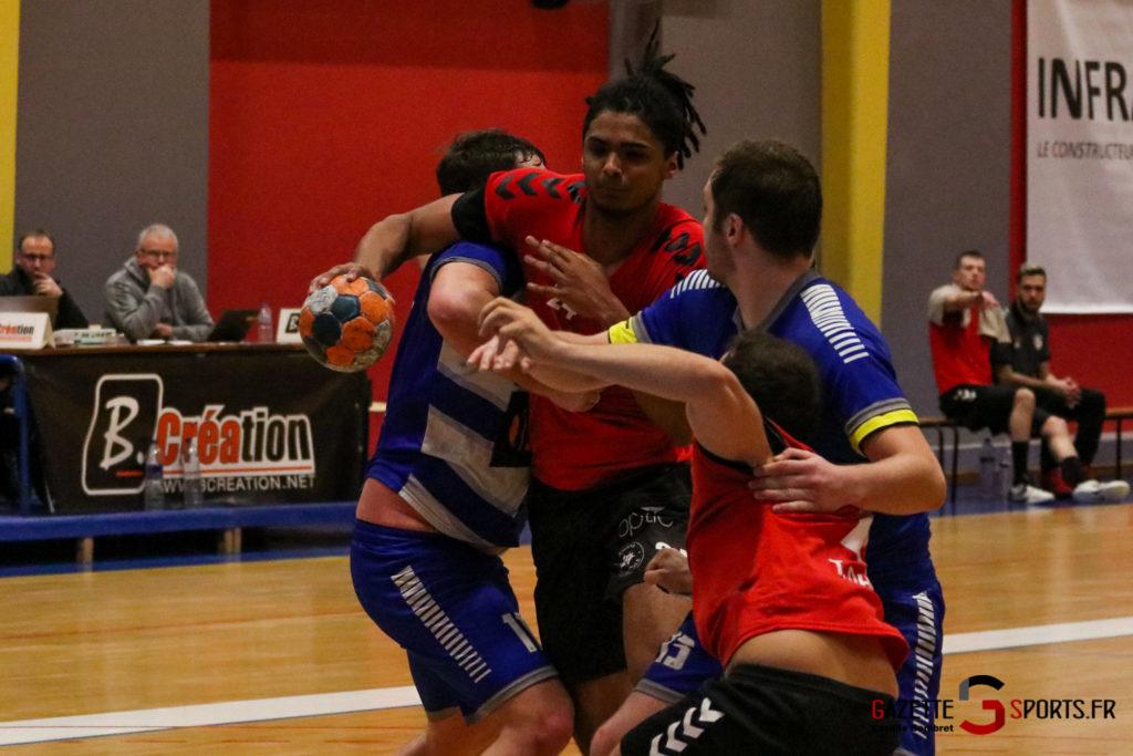 Handball Aph (b) Vs Marcq En Barouel Gazettesports Coralie Sombret 26