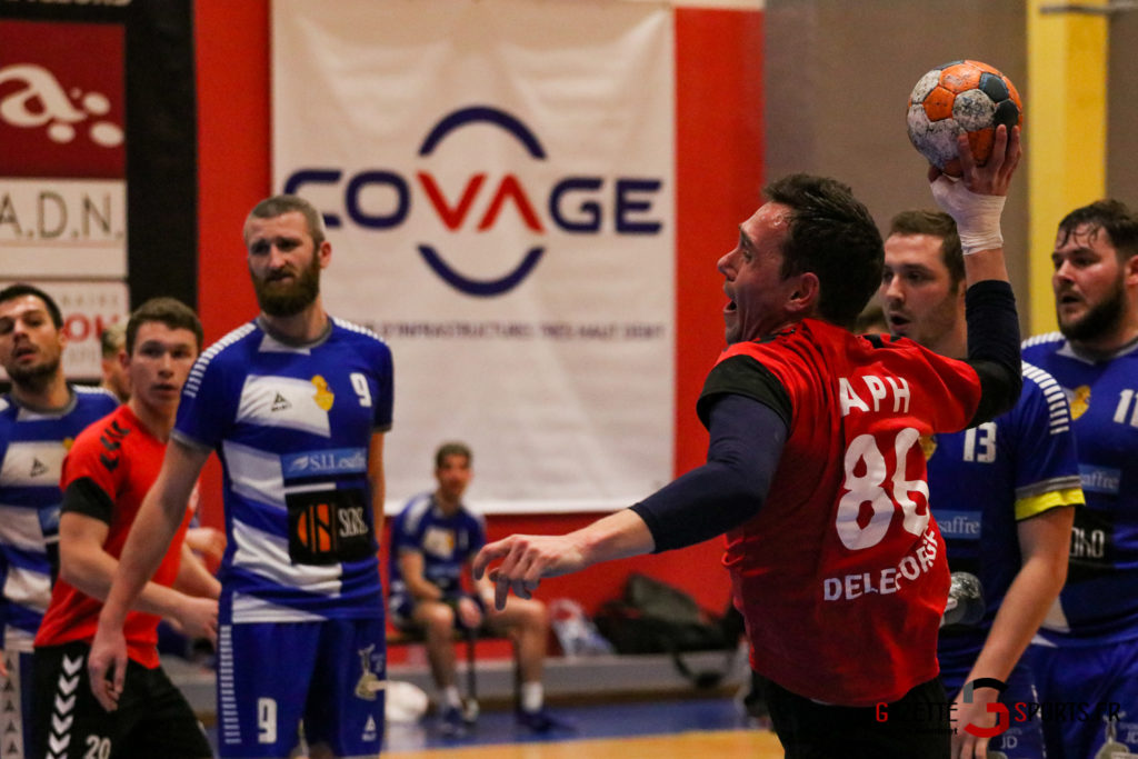 Handball Aph (b) Vs Marcq En Barouel Gazettesports Coralie Sombret 30