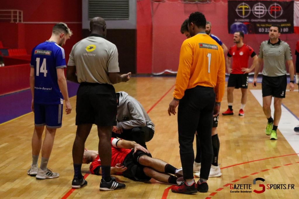 Handball Aph (b) Vs Marcq En Barouel Gazettesports Coralie Sombret 5
