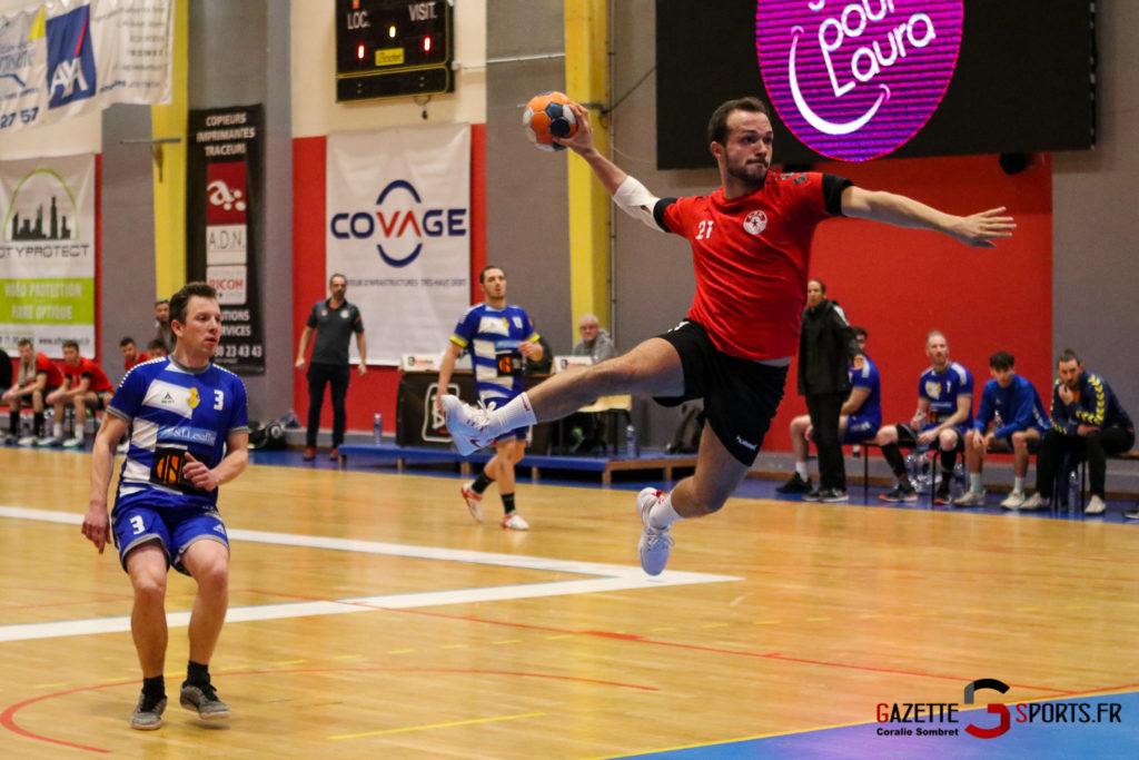 Handball Aph (b) Vs Marcq En Barouel Gazettesports Coralie Sombret 6