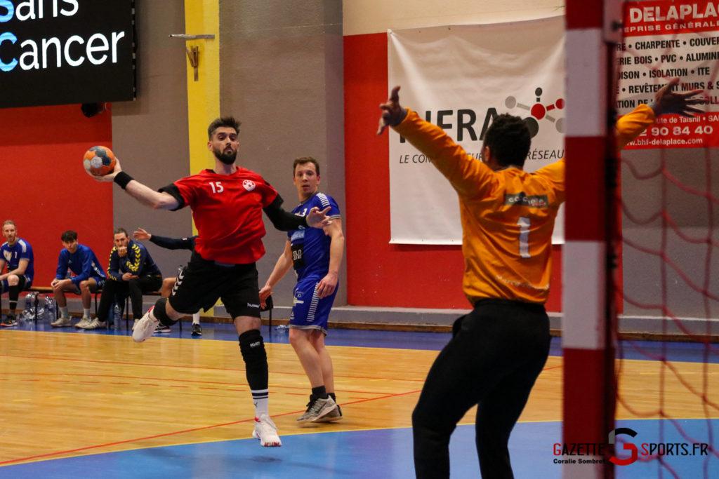 Handball Aph (b) Vs Marcq En Barouel Gazettesports Coralie Sombret 9