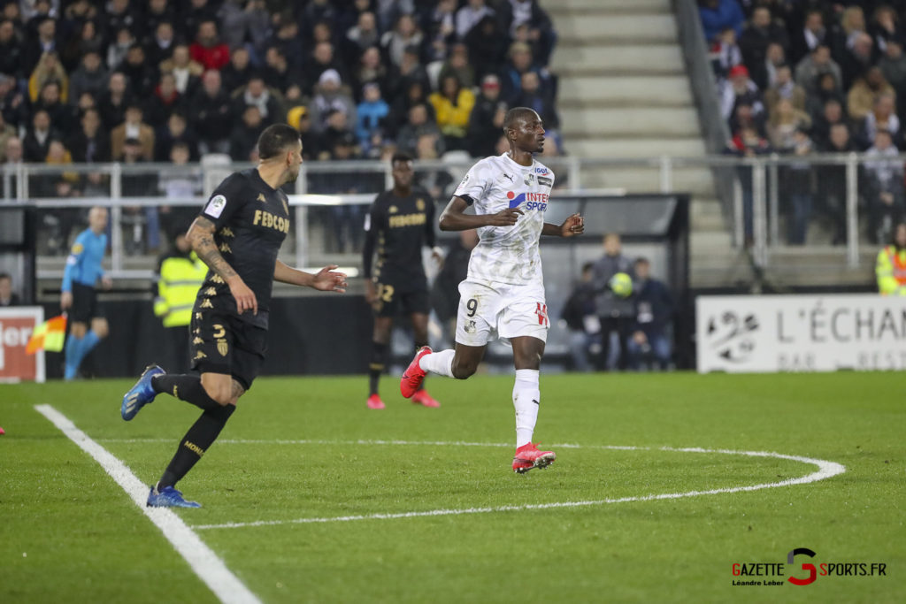 Football Amiens Sc Vs Monaco 0019 Leandre Leber Gazettesports