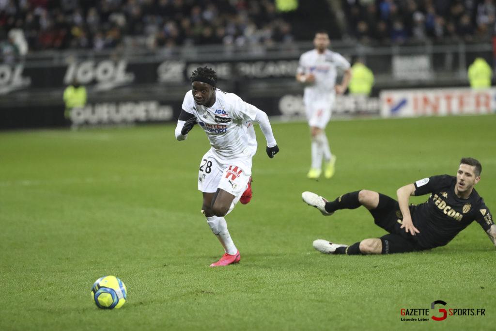 Football Amiens Sc Vs Monaco 0031 Leandre Leber Gazettesports