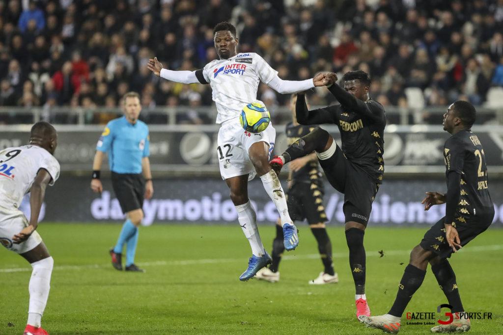 Football Amiens Sc Vs Monaco 0040 Leandre Leber Gazettesports