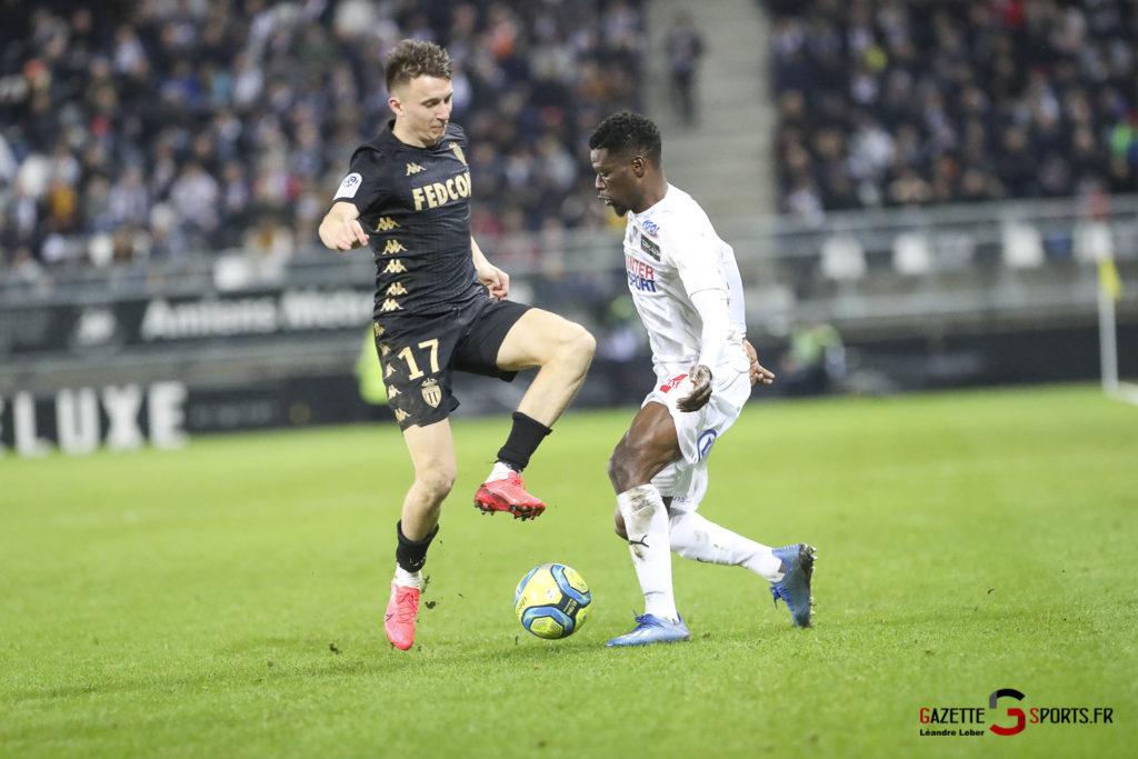 Football Amiens Sc Vs Monaco 0051 Leandre Leber Gazettesports