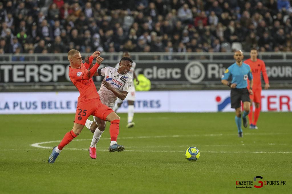 Football Ligue 1 Amiens Sc Vs Psg 0022 Leandre Leber Gazettesports