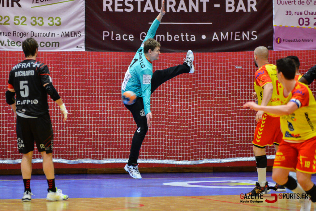 Handball Aph Vs Pau Kevin Devigne Gazettesports 56