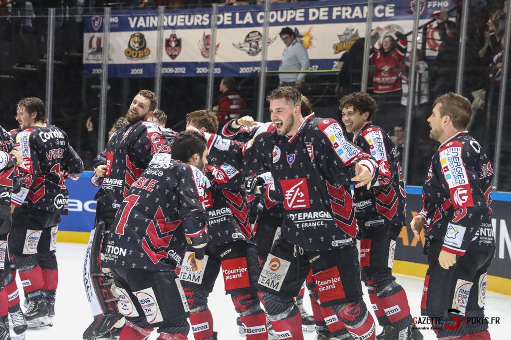 Hockey Sur Glace Coupe De France 20 Les Gothiques Amiens Vs Rouen Ambiance 0002 Leandre Leber Gazettesports