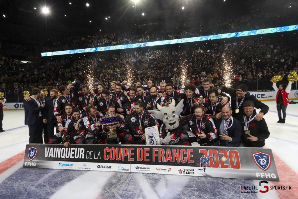 Hockey Sur Glace Coupe De France 20 Les Gothiques Amiens Vs Rouen Ambiance 0074 Leandre Leber Gazettesports