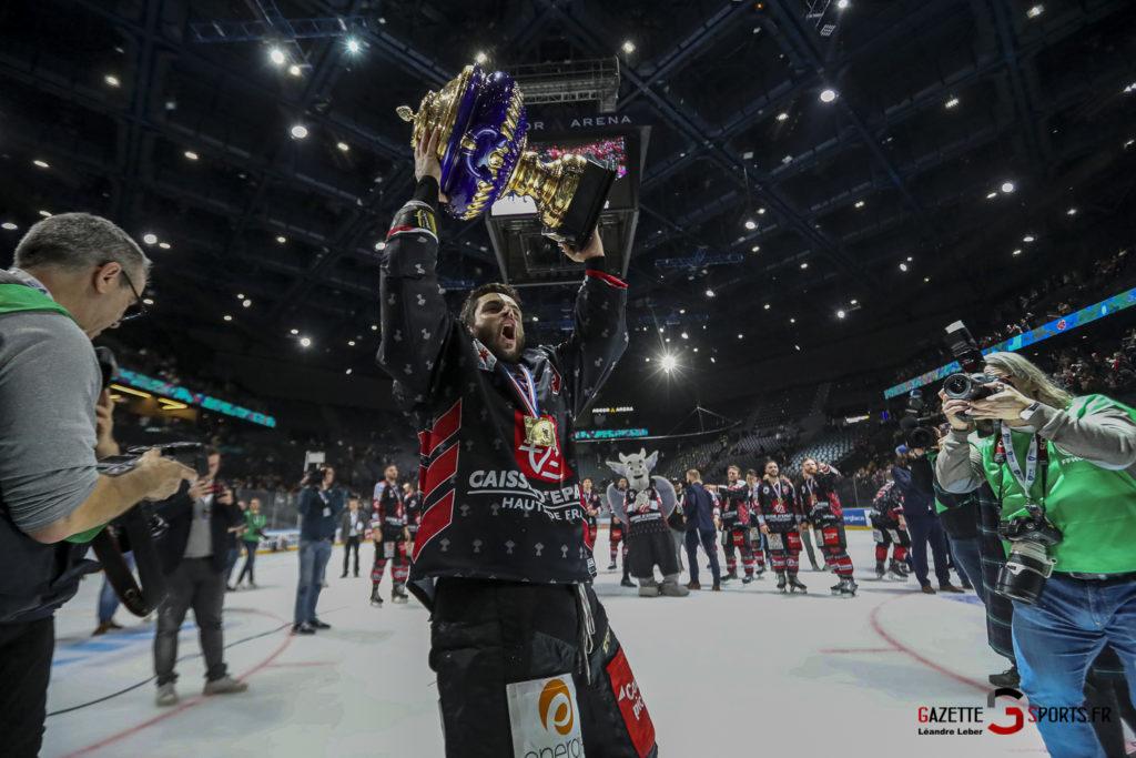 Hockey Sur Glace Coupe De France 20 Les Gothiques Amiens Vs Rouen Ambiance 0107 Leandre Leber Gazettesports