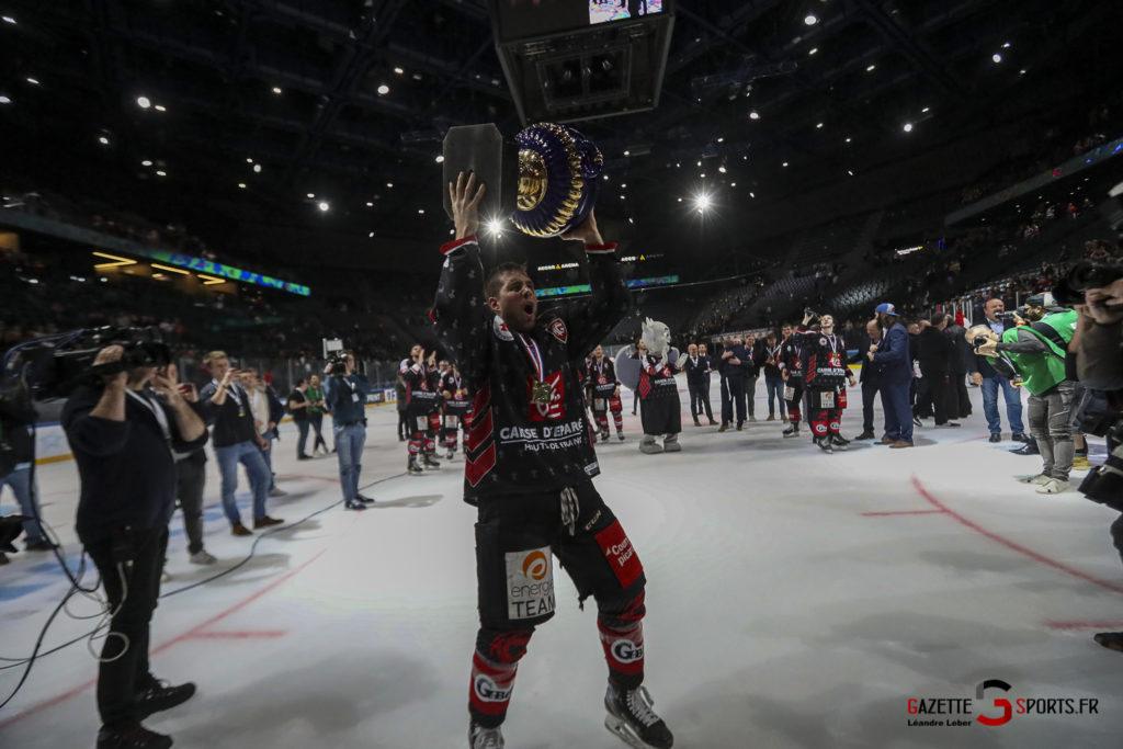 Hockey Sur Glace Coupe De France 20 Les Gothiques Amiens Vs Rouen Ambiance 0119 Leandre Leber Gazettesports