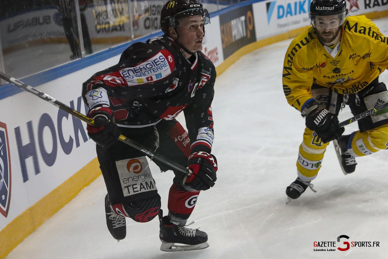 Hockey Sur Glace Coupe De France 20 Les Gothiques Vs Rouen 0089 Leandre Leber Gazettesports