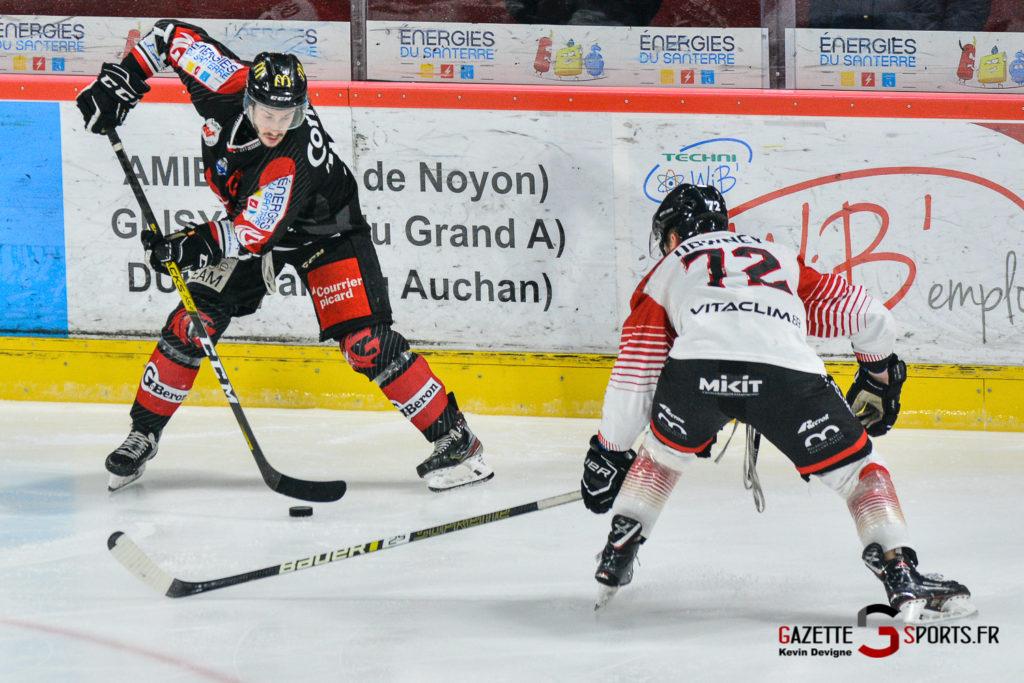 Hockey Gothique Vs Mulhouse 1 4 Match 1 Kevin Devigne Gazettesports 101