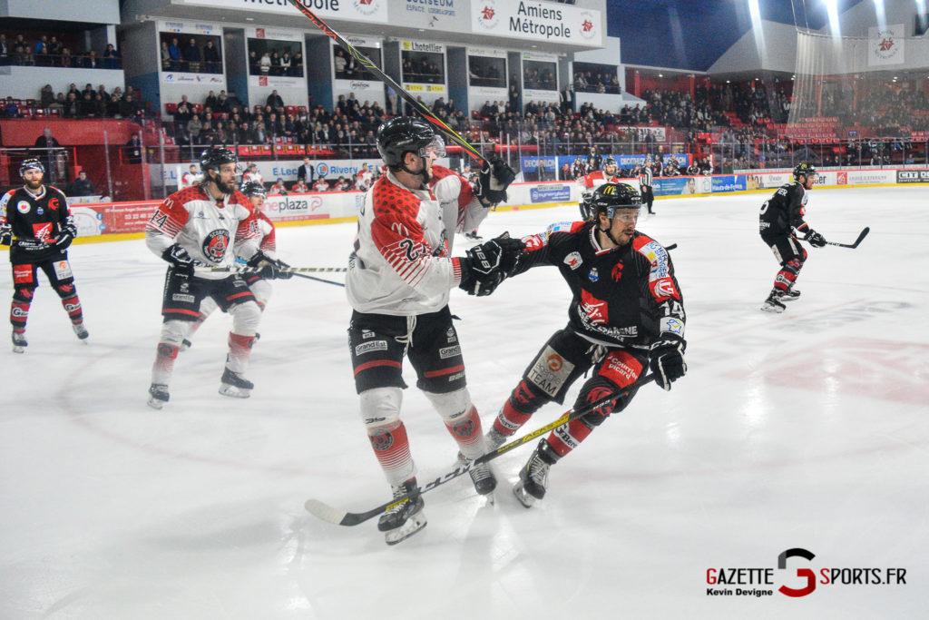 Hockey Gothique Vs Mulhouse 1 4 Match 1 Kevin Devigne Gazettesports 24