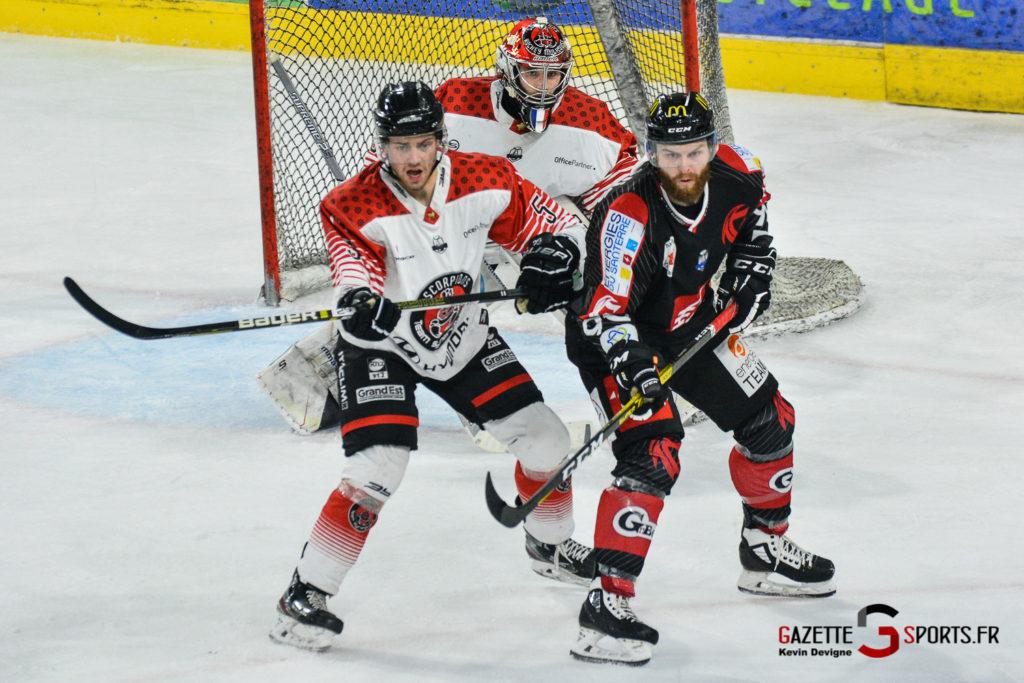 Hockey Gothique Vs Mulhouse 1 4 Match 1 Kevin Devigne Gazettesports 88