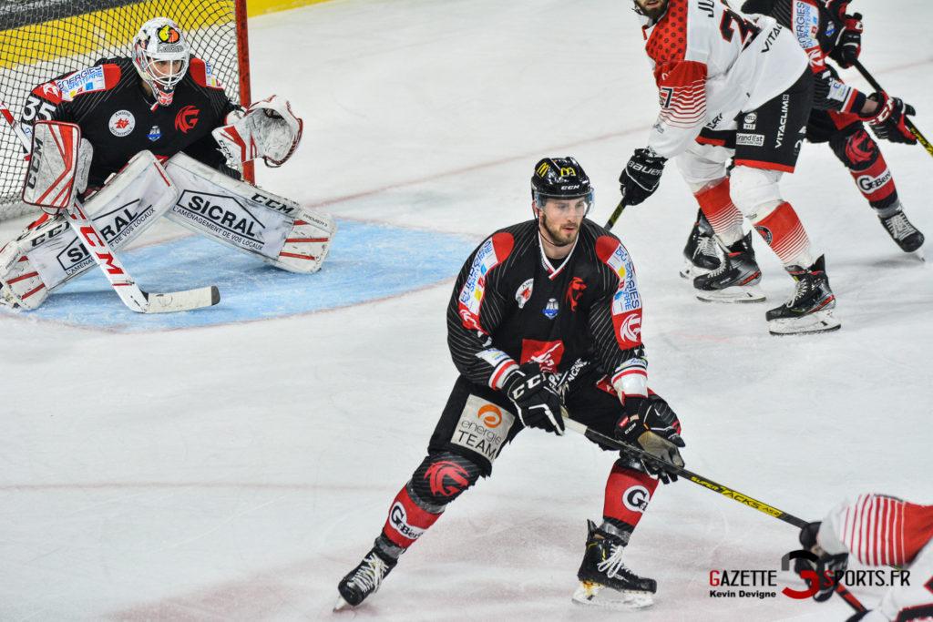 Hockey Gothique Vs Mulhouse 1 4 Match 1 Kevin Devigne Gazettesports 89