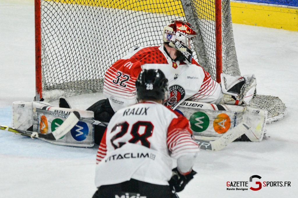 Hockey Gothique Vs Mulhouse 1 4 Match 1 Kevin Devigne Gazettesports 90