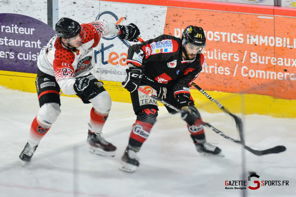 Hockey Gothique Vs Mulhouse 1 4 Match 1 Kevin Devigne Gazettesports 98