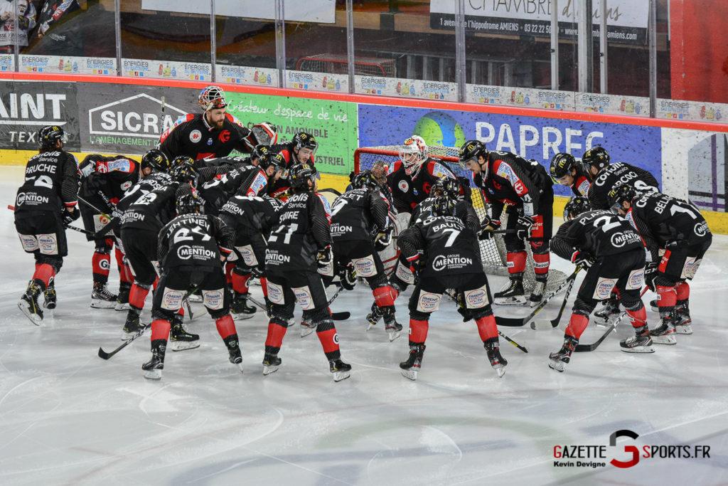 Hockeysurglace Gothiques Vs Chamonix Kevin Devigne Gazettesports