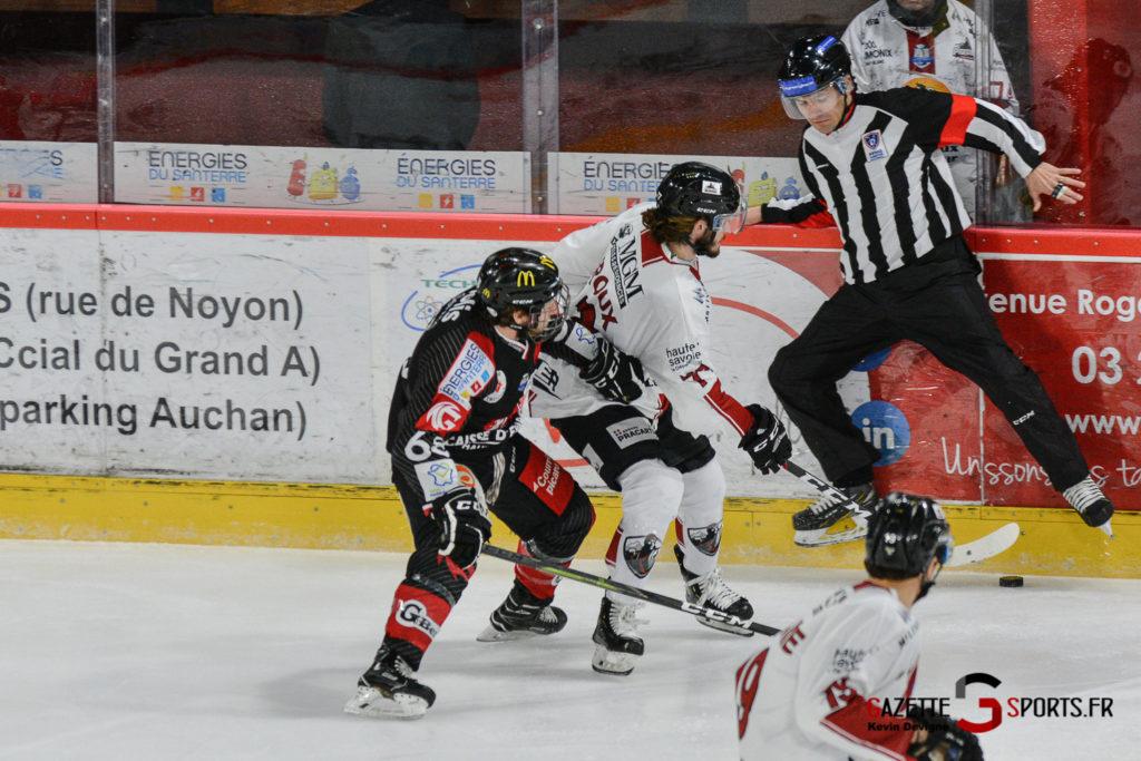 Hockeysurglace Gothiques Vs Chamonix Kevin Devigne Gazettesports 11