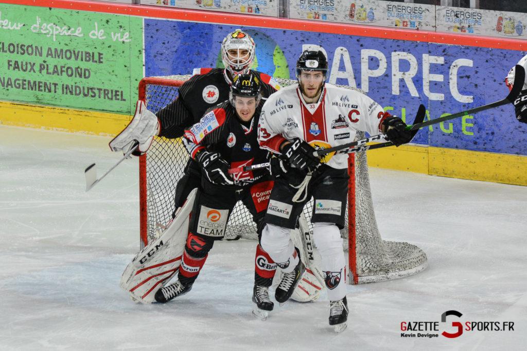 Hockeysurglace Gothiques Vs Chamonix Kevin Devigne Gazettesports 16