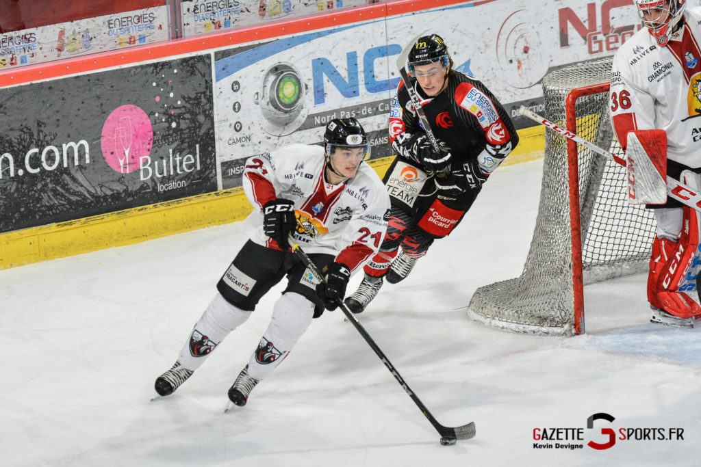 Hockeysurglace Gothiques Vs Chamonix Kevin Devigne Gazettesports 23