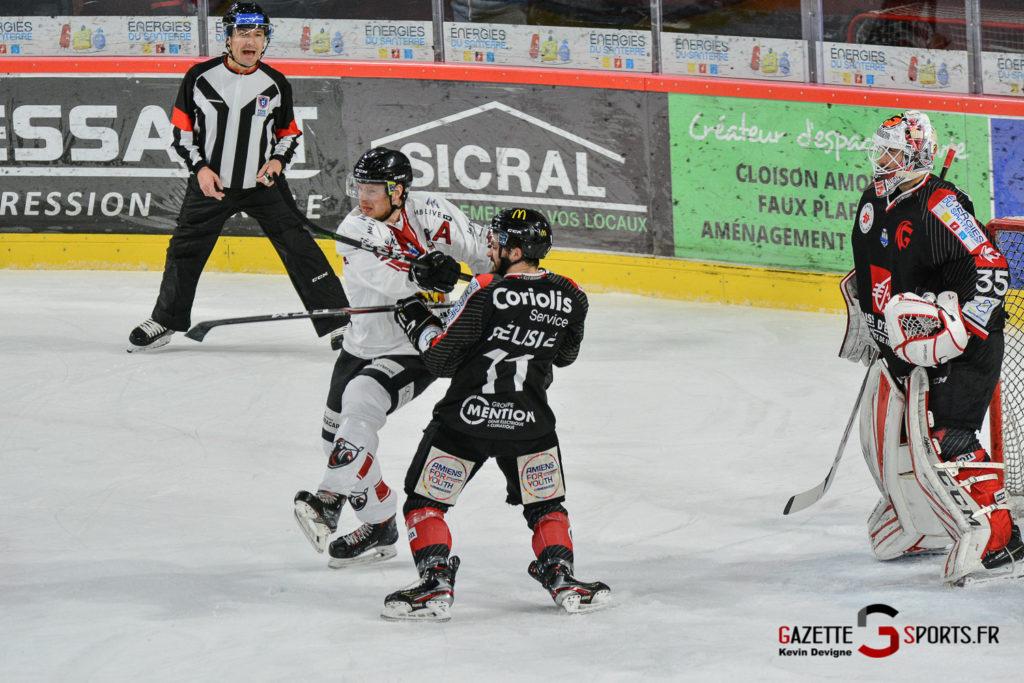 Hockeysurglace Gothiques Vs Chamonix Kevin Devigne Gazettesports 30