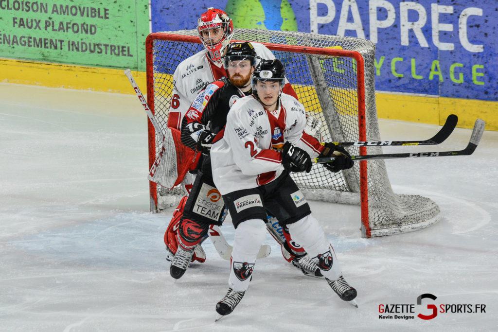 Hockeysurglace Gothiques Vs Chamonix Kevin Devigne Gazettesports 35