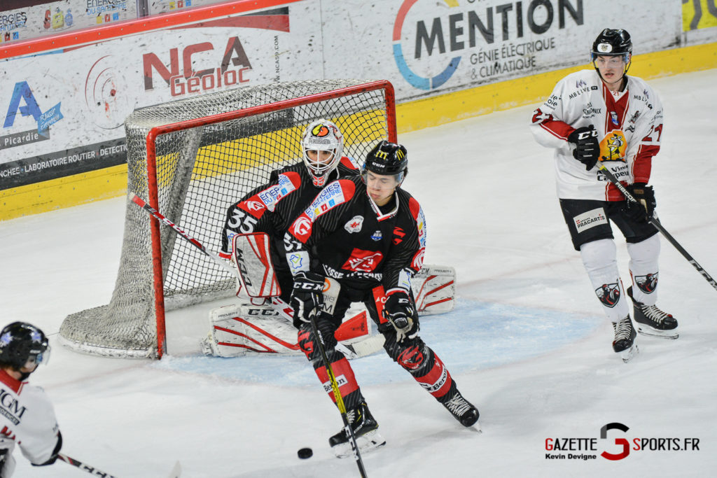 Hockeysurglace Gothiques Vs Chamonix Kevin Devigne Gazettesports 51