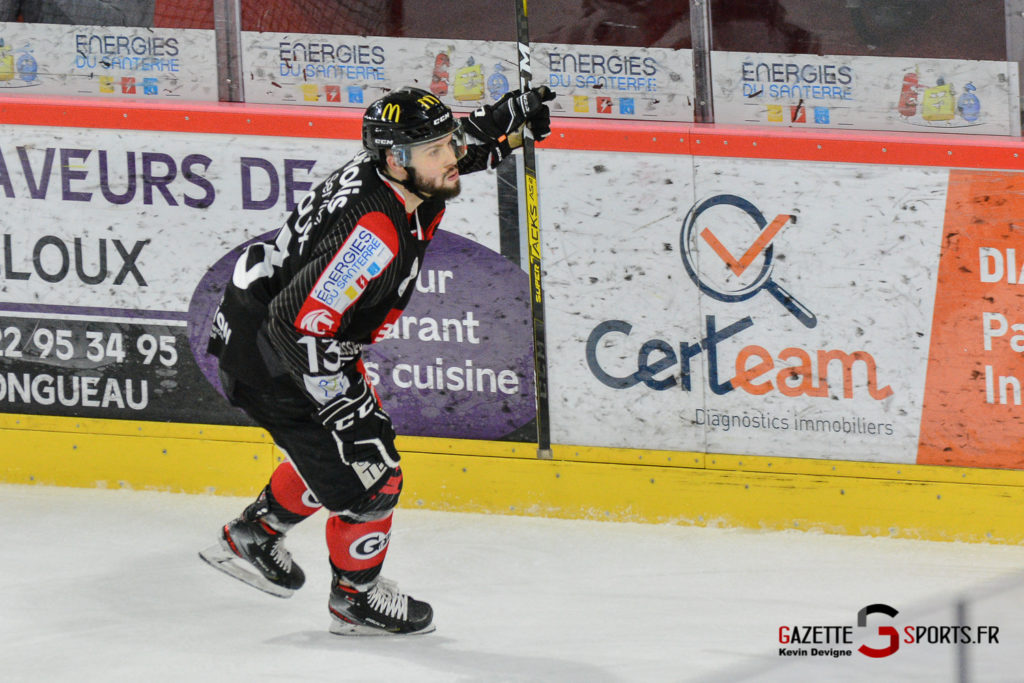 Hockeysurglace Gothiques Vs Chamonix Kevin Devigne Gazettesports 58