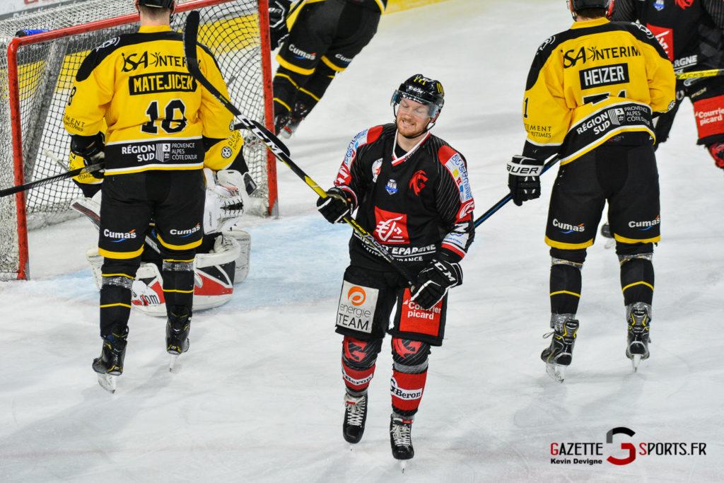 Hockeysurglace Gothiques Vs Nice Kevin Devigne Gazettesports 11