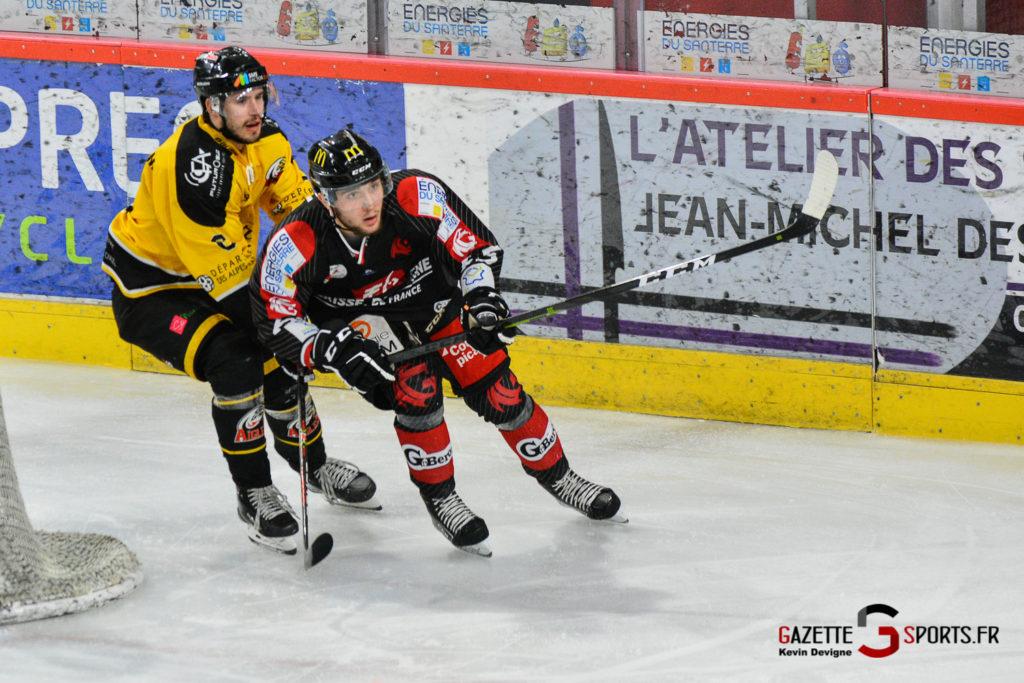 Hockeysurglace Gothiques Vs Nice Kevin Devigne Gazettesports 12