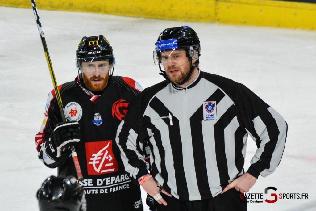 Hockeysurglace Gothiques Vs Nice Kevin Devigne Gazettesports 13