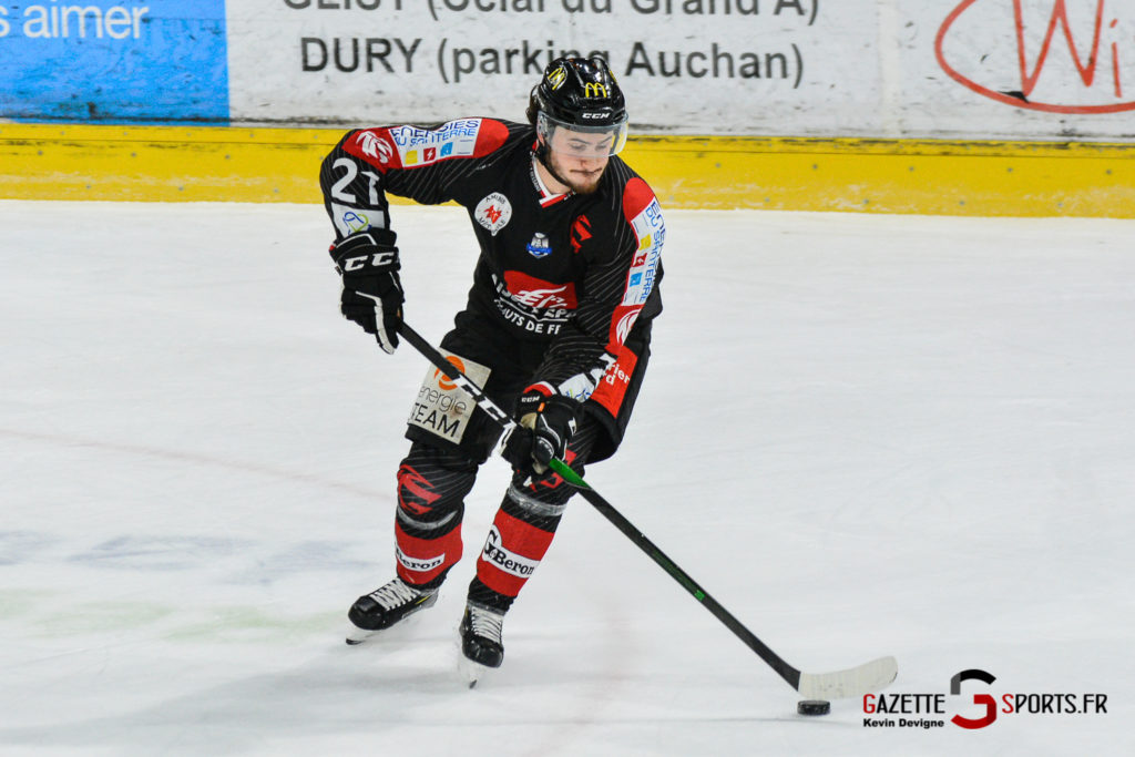 Hockeysurglace Gothiques Vs Nice Kevin Devigne Gazettesports 25