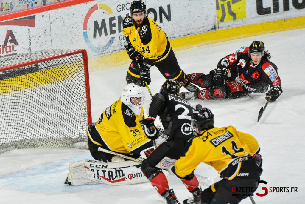 Hockeysurglace Gothiques Vs Nice Kevin Devigne Gazettesports 27