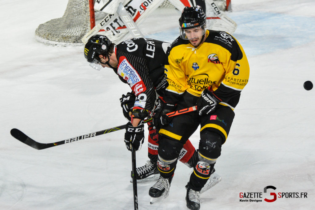 Hockeysurglace Gothiques Vs Nice Kevin Devigne Gazettesports 28